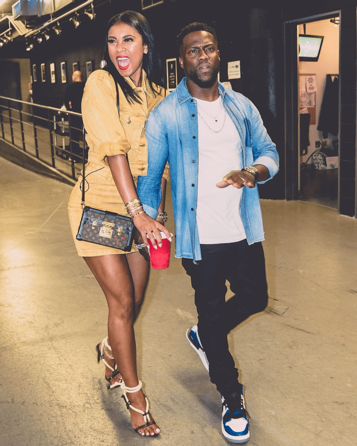Kevin Hart in the Air Jordan Legacy 312