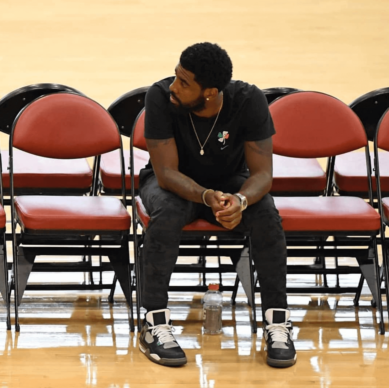 "Kyrie Irving in the Air Jordan 4 Retro ""Oregon"""