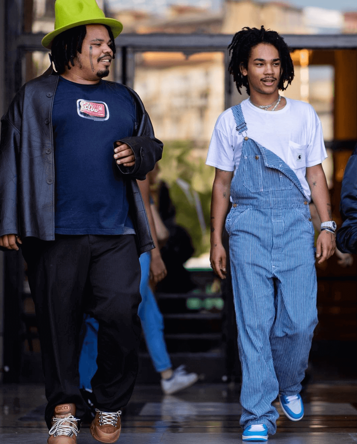 "Luka Sabbat in the Off White x Air Jordan 1 ""UNC"""