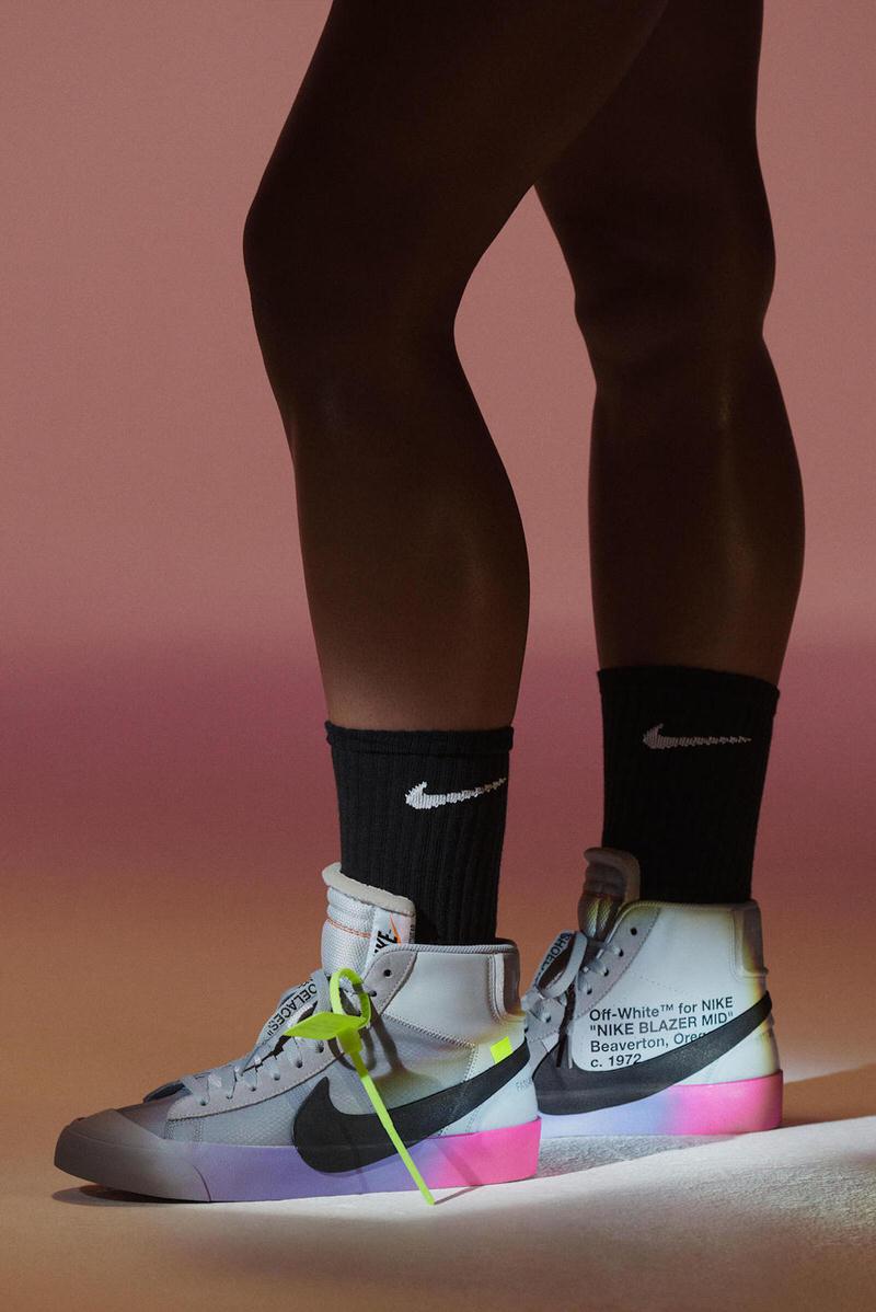 OFF WHITE x Nike Blazer SW
