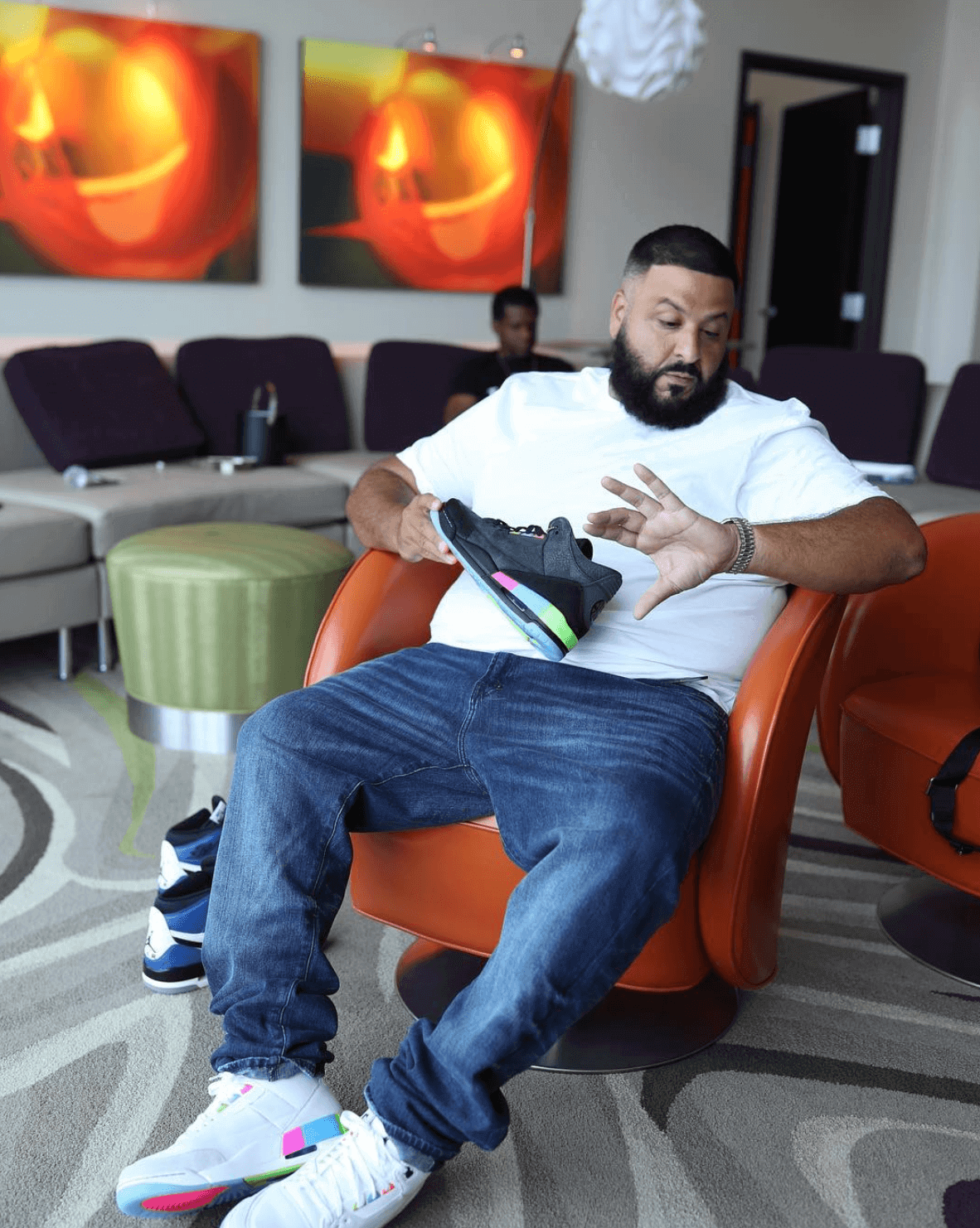 "DJ Khaled in the Air Jordan 3 Retro ""Quai 54"""