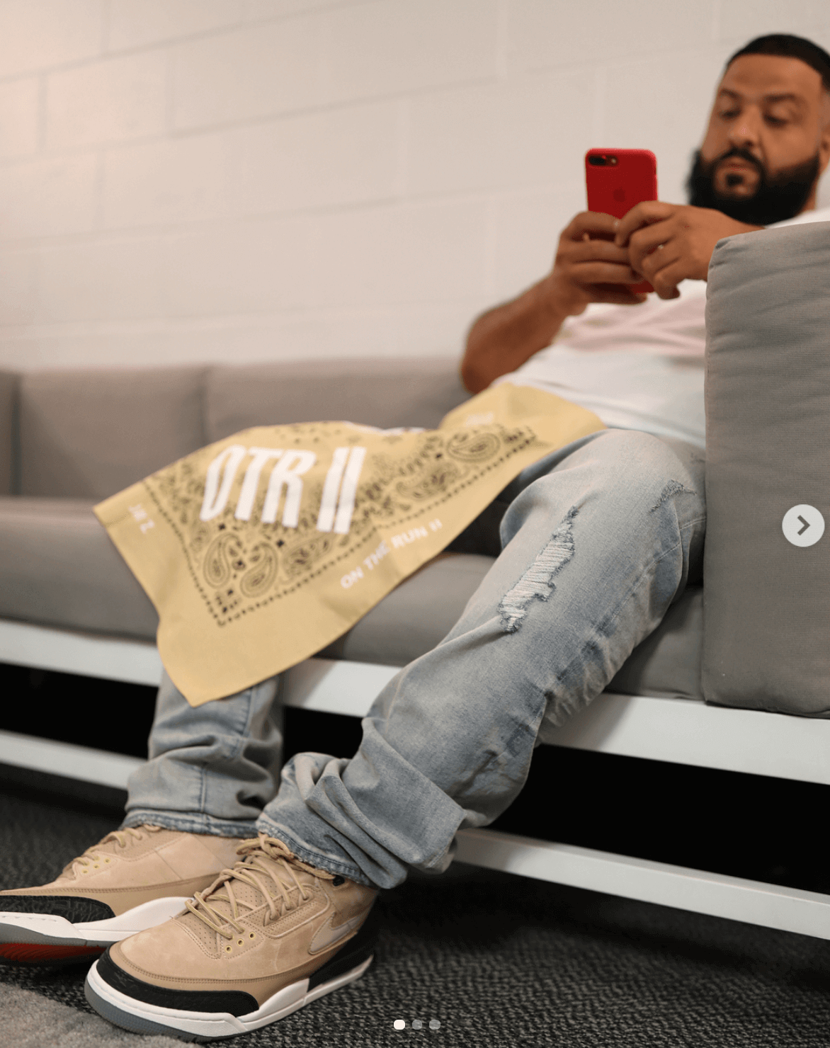 "DJ Khaled in the Air Jordan 3 Retro ""JTH"""