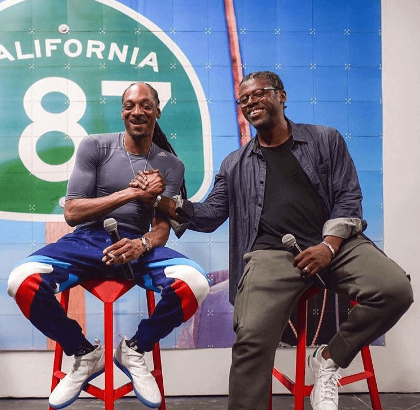 Snoop Dogg in the adidas 3ST.002