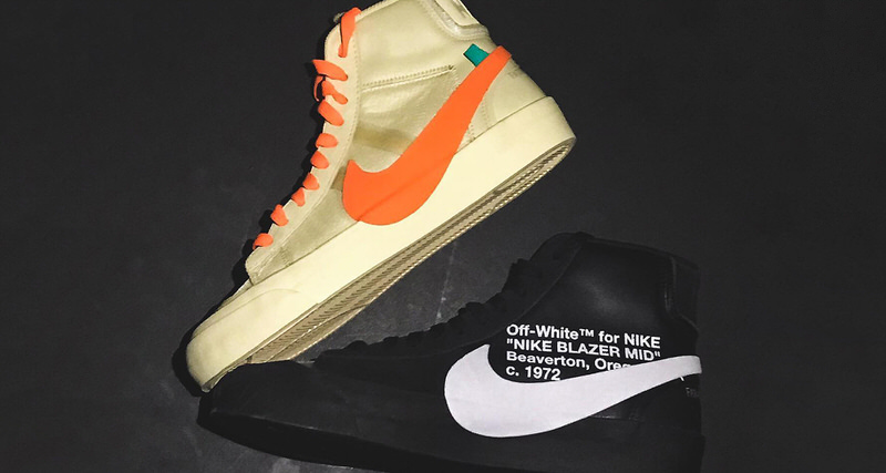 Virgil Abloh Names Upcoming OFF WHITE x Nike Blazers