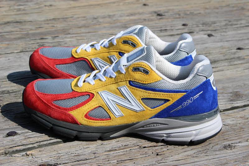Shoe City x EAT x New Balance 990v4