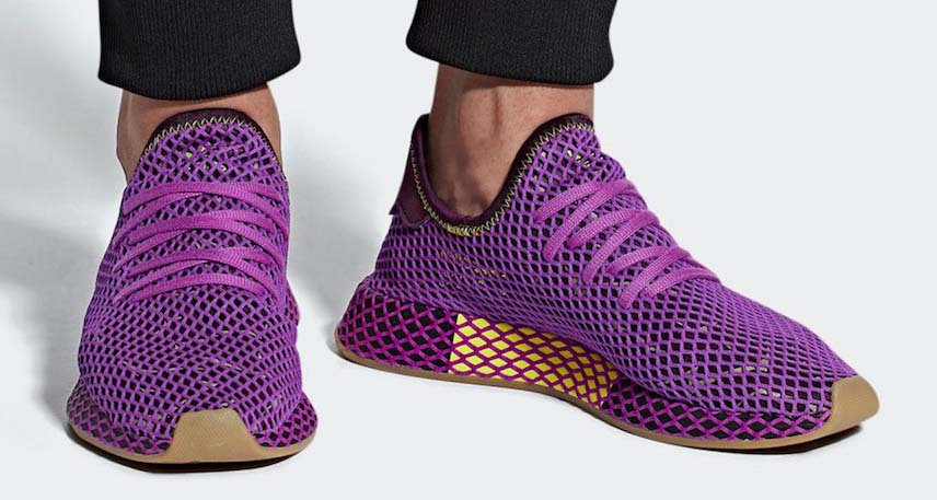 "Dragon Ball Z x adidas Deerupt ""Son Gohan"" is Coming Soon ..."