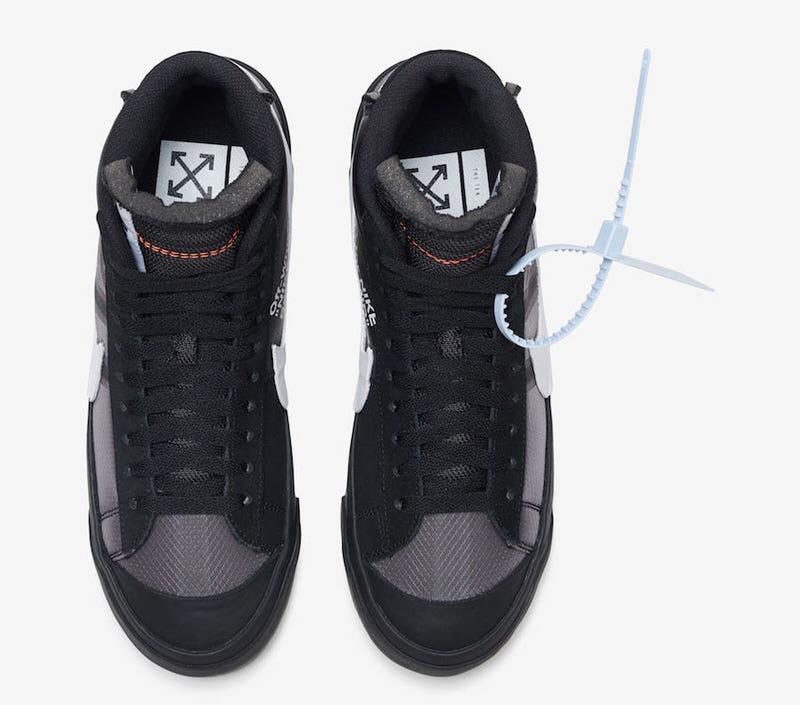 "795e081ba1b Off-White x Nike Blazer Mid ""Grim Reaper"""