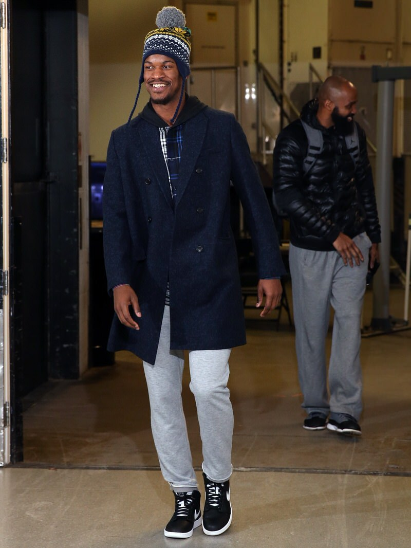 What S In Their Wardrobe Jimmy Butler Nice Kicks