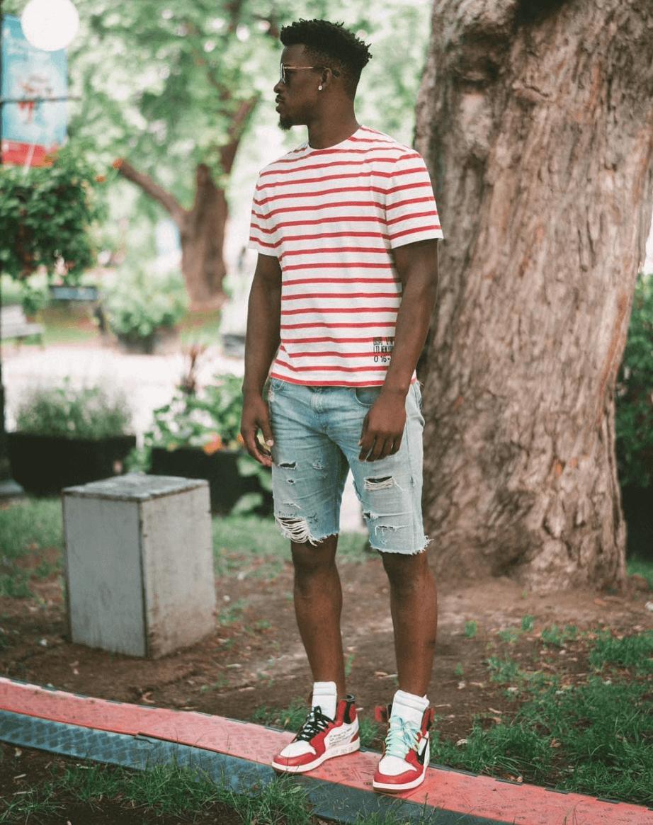shorts and jordan 1s