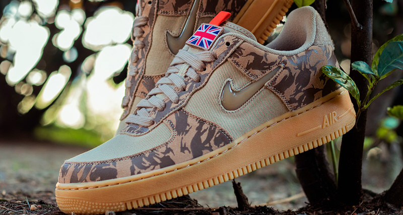 "Nike Air Force 1 Jewel ""Camo"" UK"