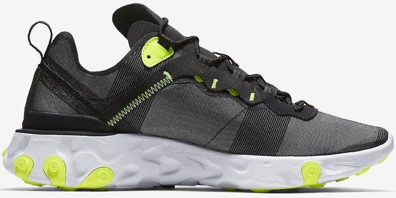 Nike React Element 55 Black/Volt