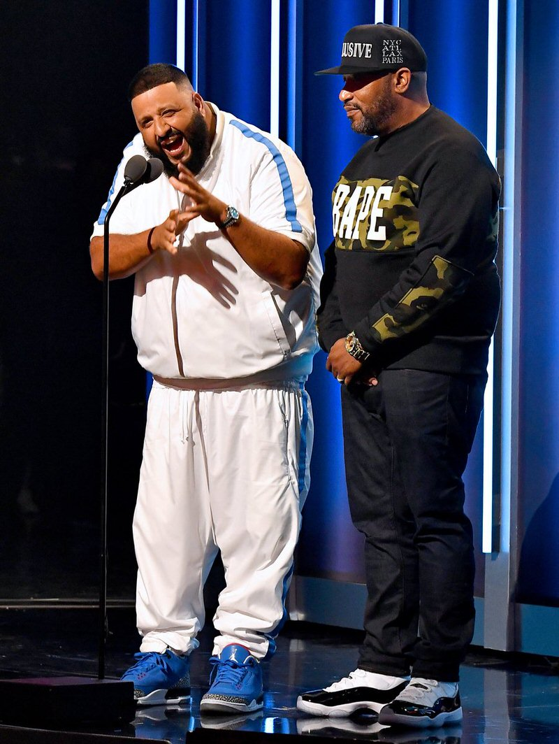 "DJ Khaled in the DJ Khaled x Air Jordan 3 & Bun B in the Air Jordan 11 ""Concord"""