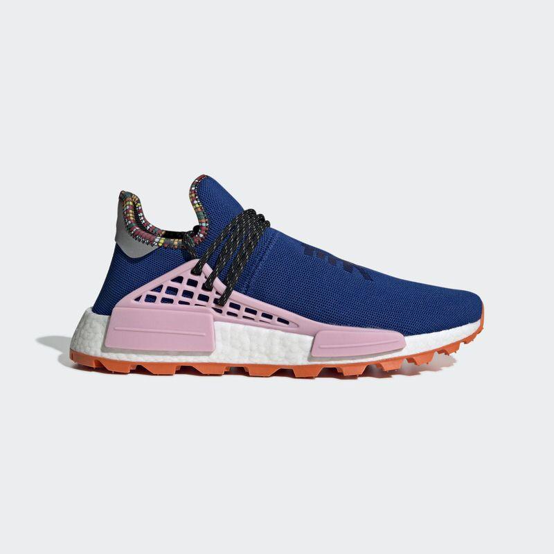 dabc95ca8c2 Pharrell x adidas NMD Hu Inspiration Pack  Blue Pink