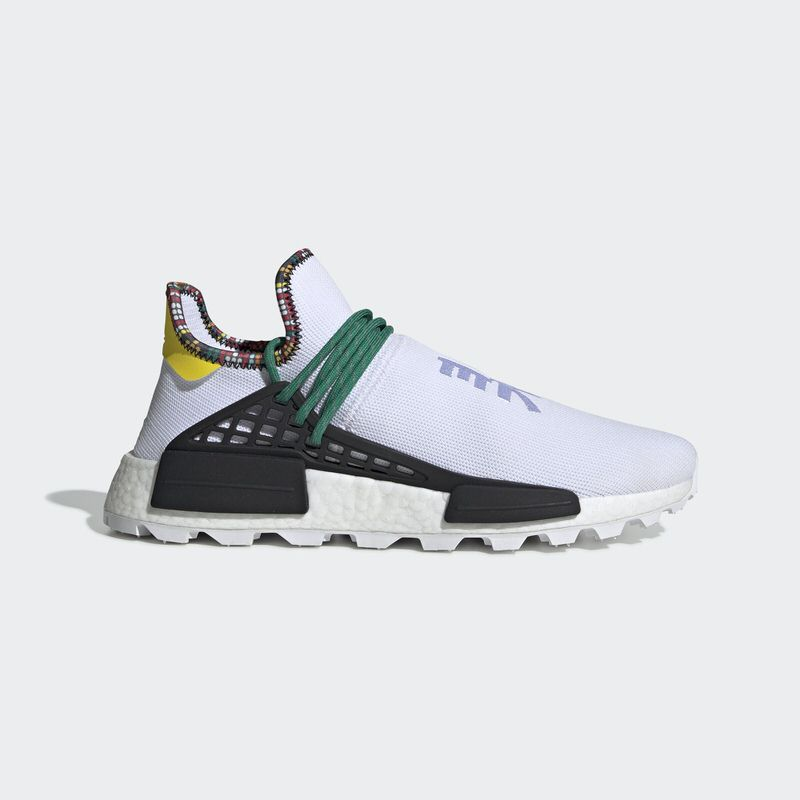 a2eea686fe7e Pharrell x adidas NMD Hu Inspiration Pack  White Green