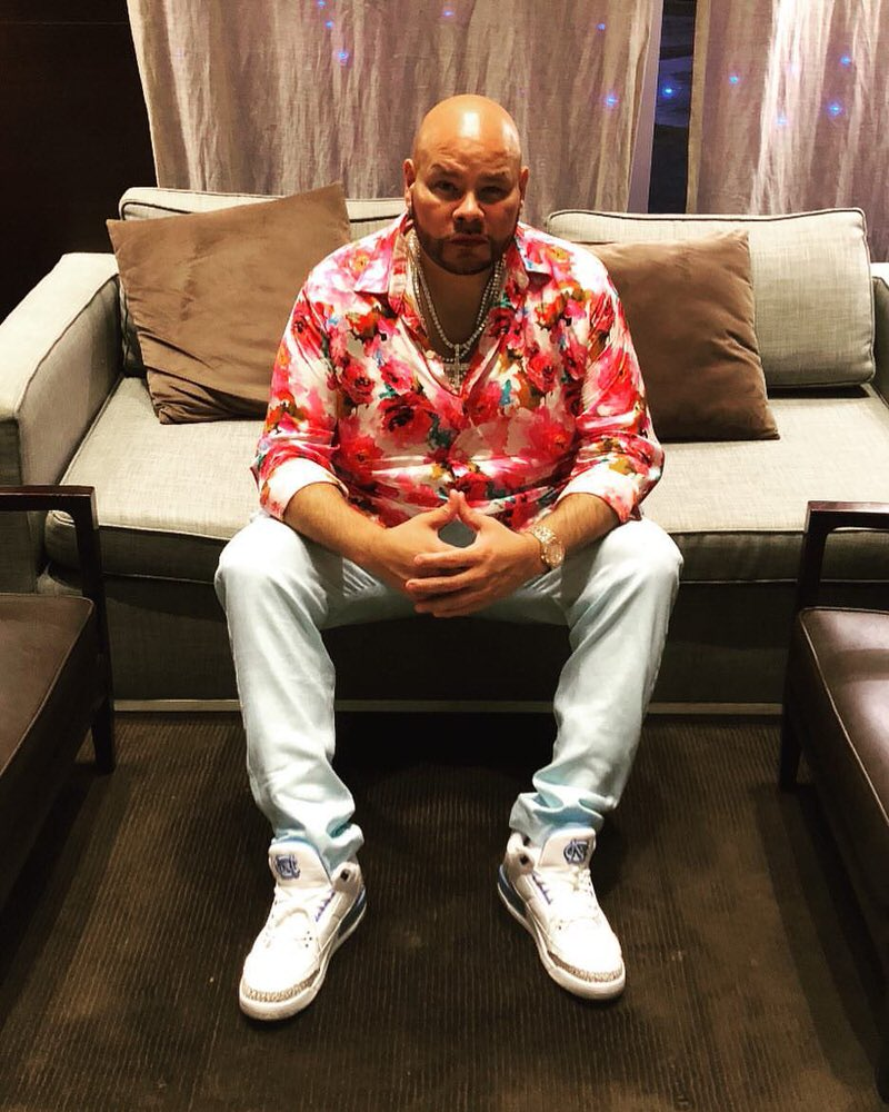 "Fat Joe in the Air Jordan 3 Retro ""UNC"""