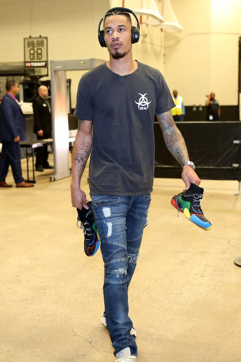 Gerald Green in the adidas Yeezy Boost 700 OG