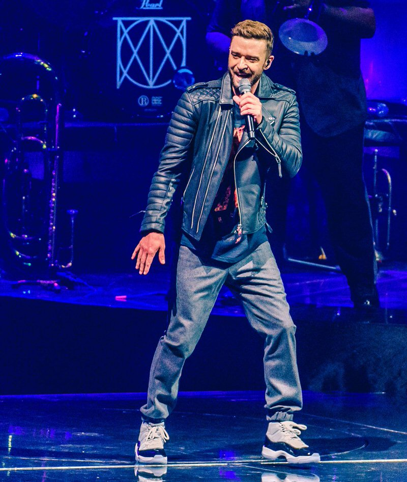"Justin Timberlake in the Air Jordan 11 Retro ""Concord"""