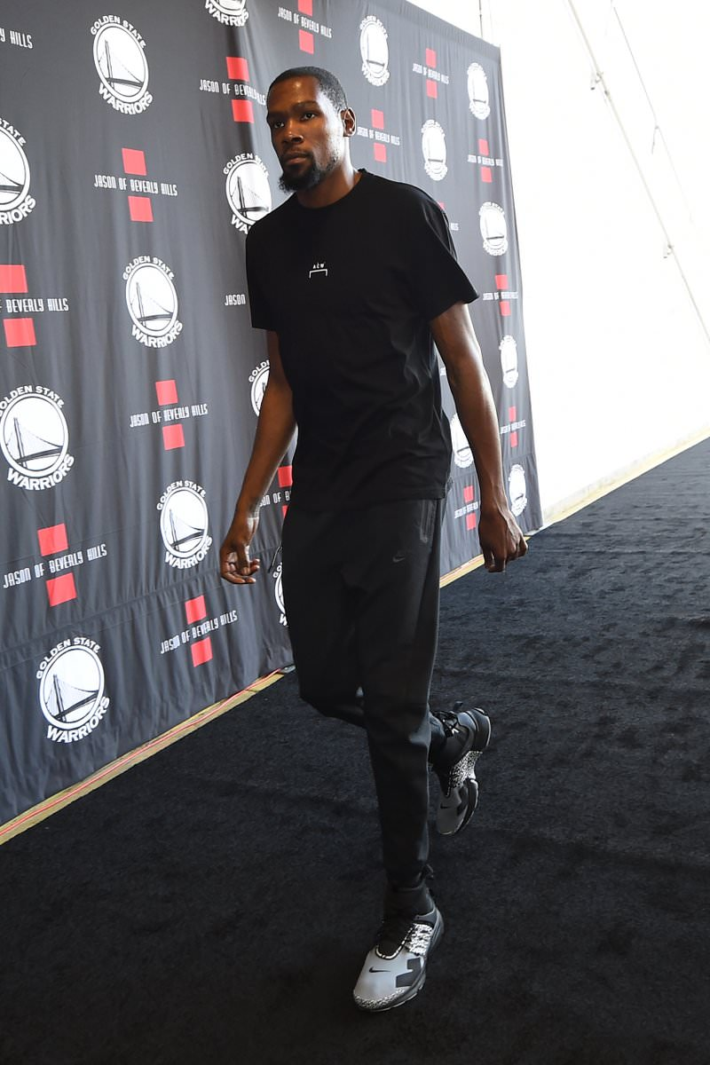 Kevin Durant in the Acronym x Nike Air Presto Mid