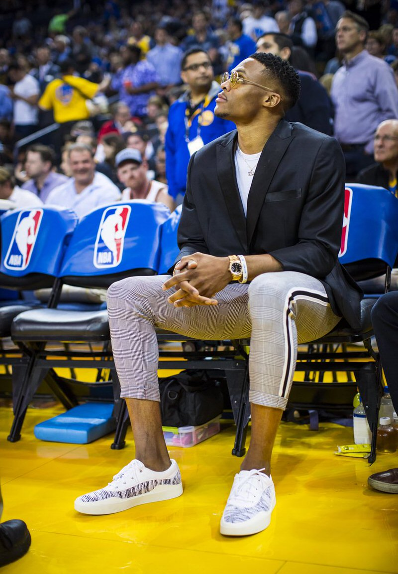Russell Westbrook in the Jordan Westbrook 0.3