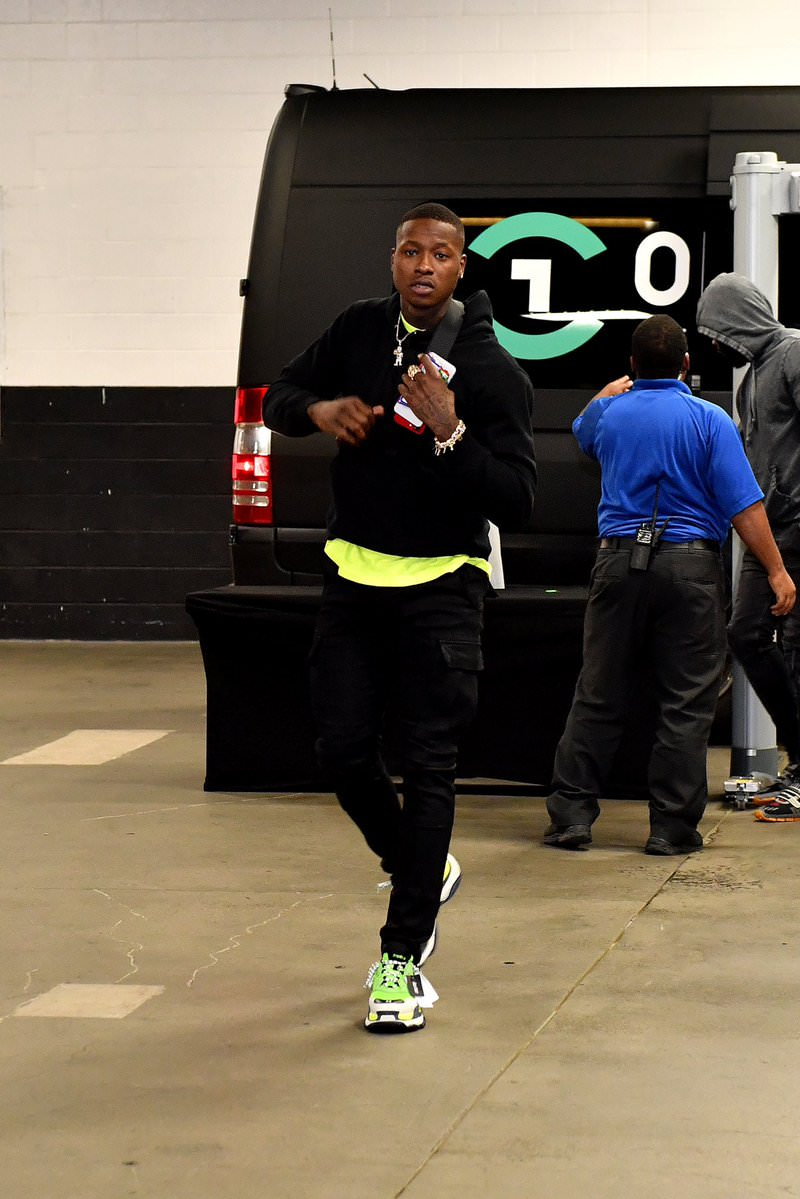 Terry Rozier in the Balenciaga Triple S