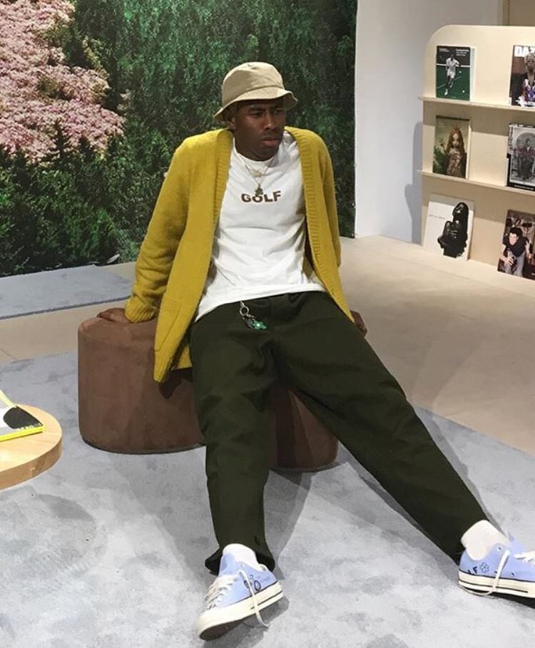 Tyler the Creator in the Converse Chuck Taylor
