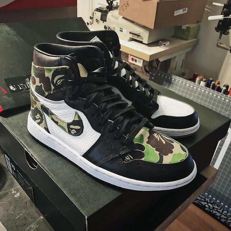 Custom Air Jordan 1 Gets Dripped in