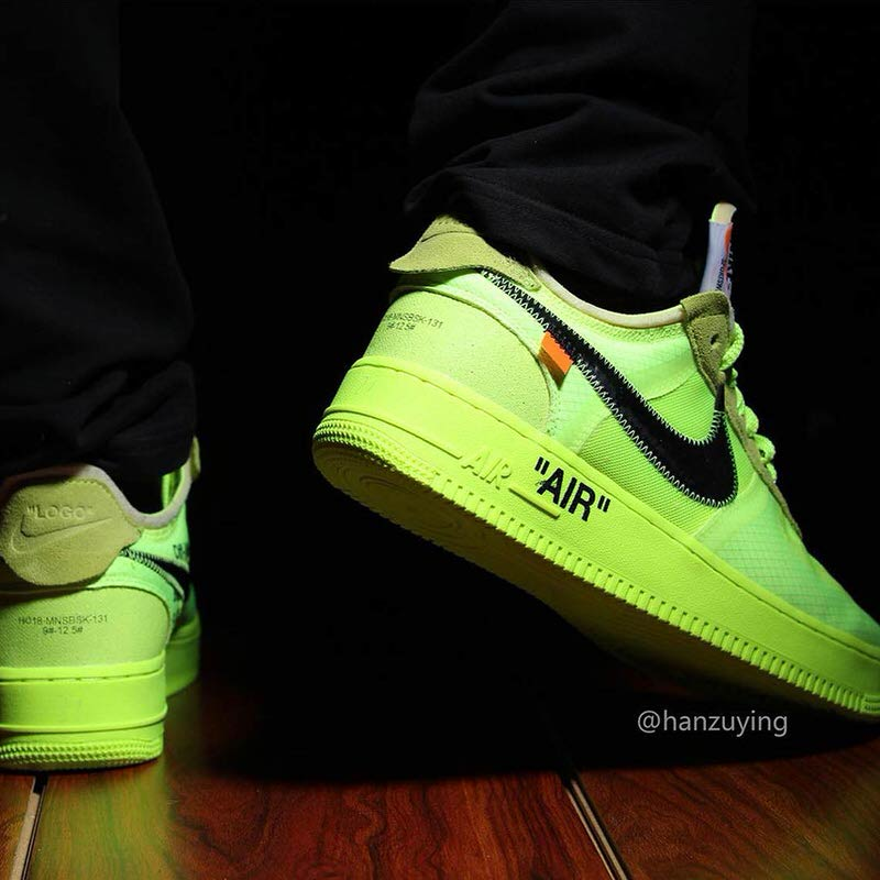 Can Virgil Bring Volt Back With Off White X Nike Air Force 1