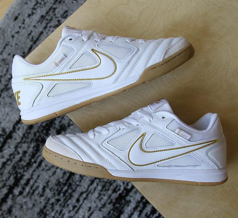 Nike SB Gato Goes Gold \u0026 Gum   Nice Kicks