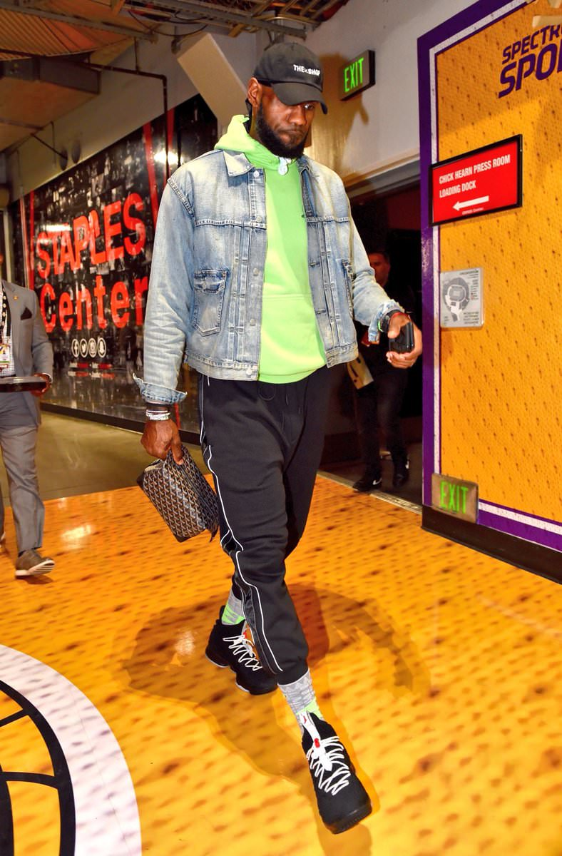 Lebron James in the Nike Lebron 15 PE