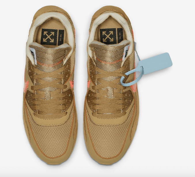 "Off-White x Nike Air Max 90 ""Desert Orche"""