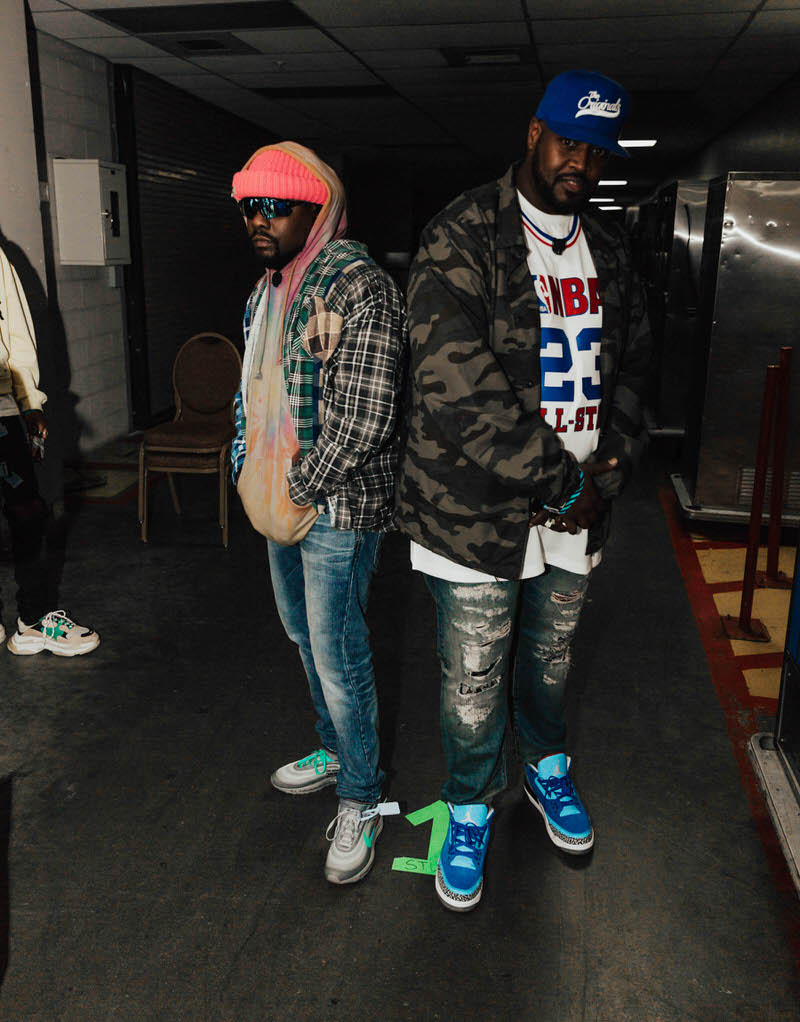 """Wale in the Off White x Nike Air Max 97 """"Menta"""""""