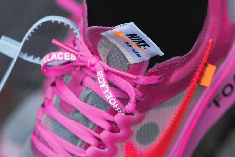 """Off White x Nike Zoom Fly SP """"Pink"""""""
