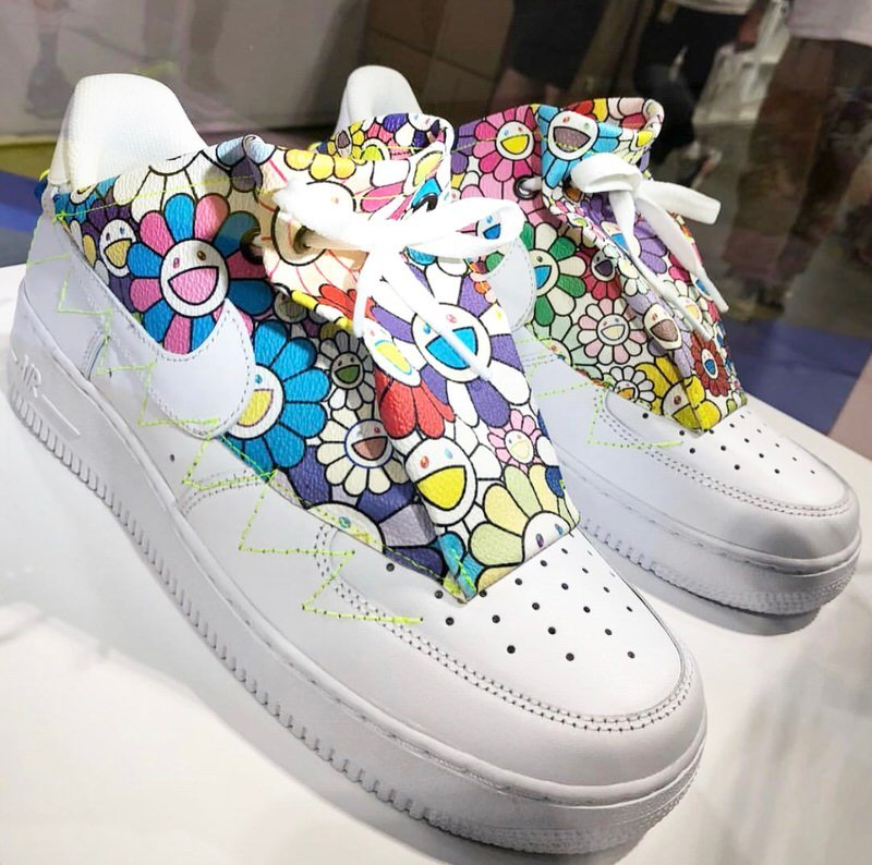 The Air Force 1 is a blank canvas that's just waiting to see an official Murakami collaboration like his custom version.