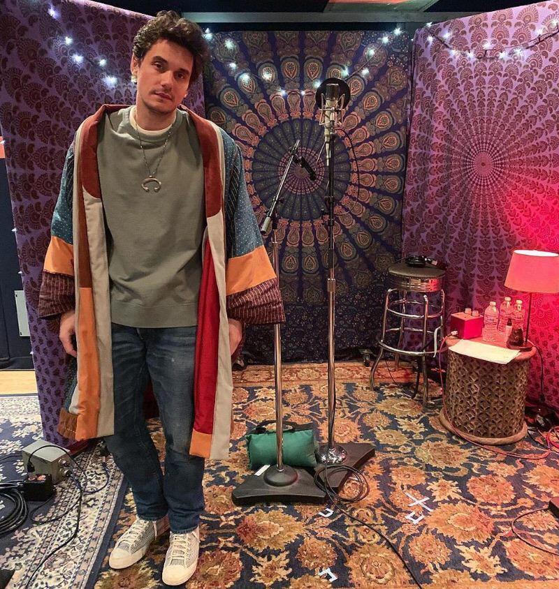 John Mayer in the Visvim Sneakers