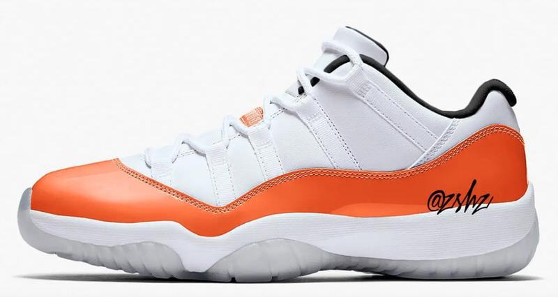 "Air Jordan 11 Low ""Orange Trance"""