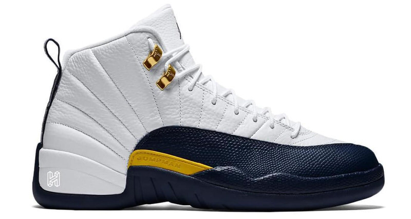 "Air Jordan 12 ""Michigan"""
