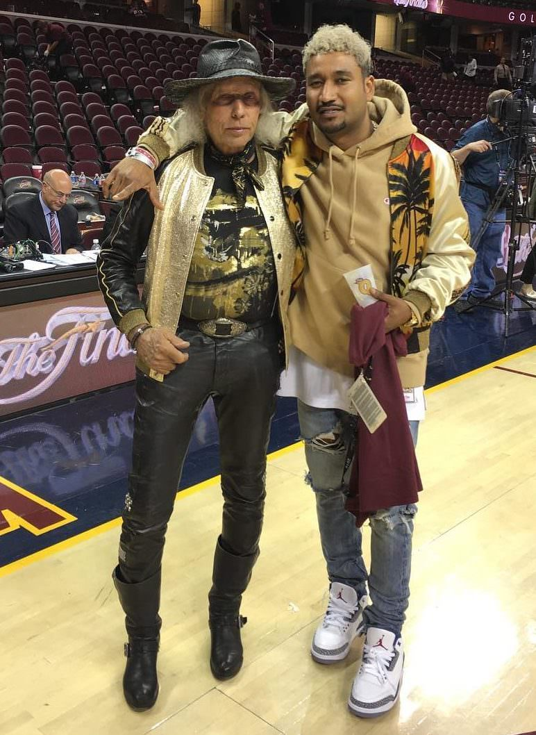When basketball heritage meets rockstar personality.