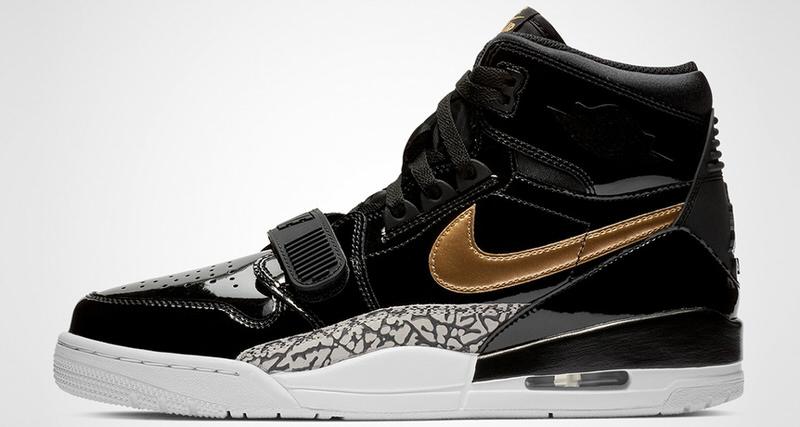Jordan Legacy 312 Black/Gold