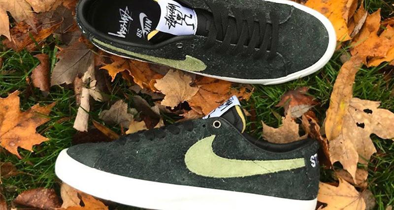 Stussy x Nike Blazer Low