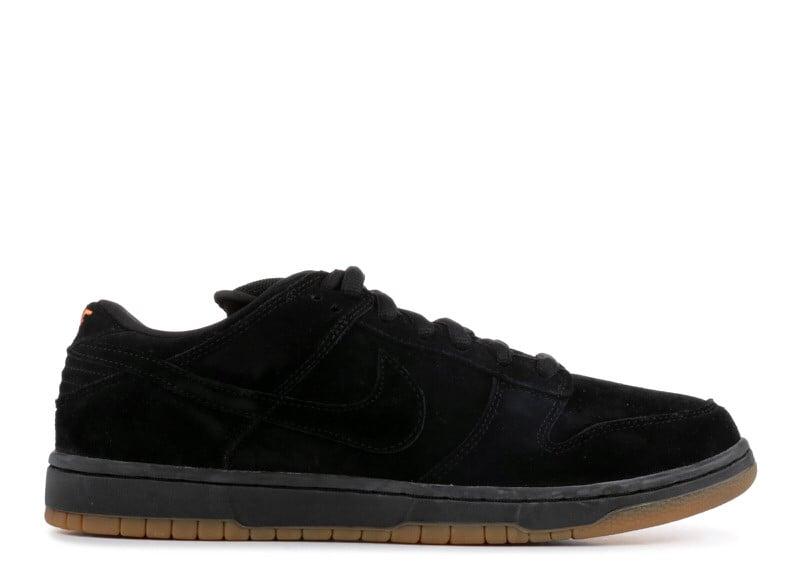 "Nike SB Dunk Low ""Black Pack"""