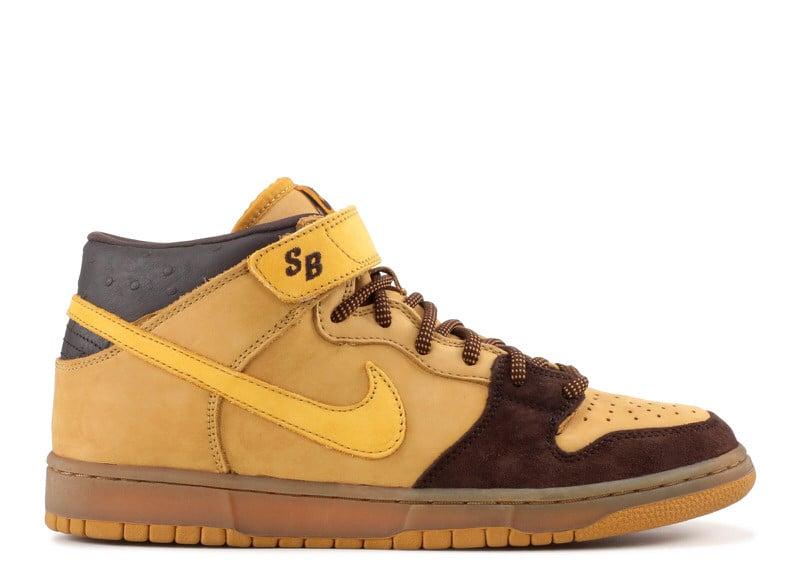 "Nike SB Dunk Mid ""Wheat"""