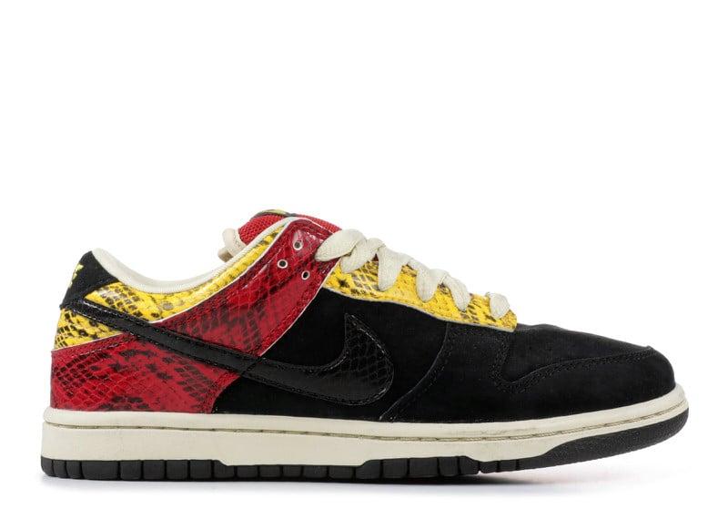 """Nike SB Dunk Low """"Coral Snake"""""""