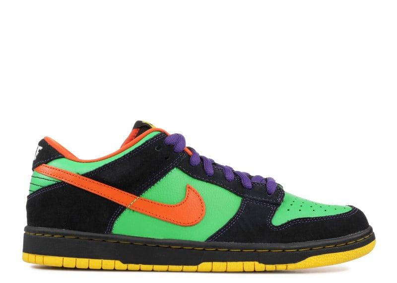"""Nike SB Dunk Low """"Green Spark/Hoop Orange"""""""