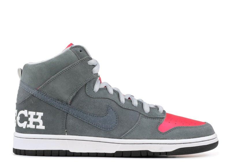 "Nike SB Dunk High ""Brain Wreck"""