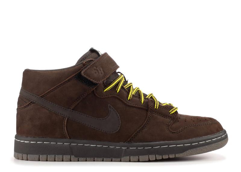 "Nike SB Dunk Mid ""Dark Chocolate"""