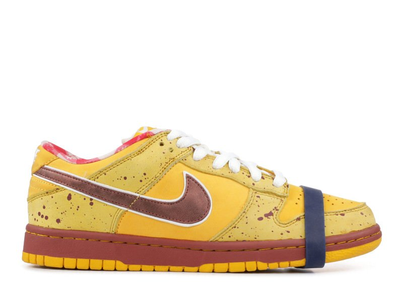 "CNCPTS x Nike SB Dunk Low ""Yellow Lobster"""