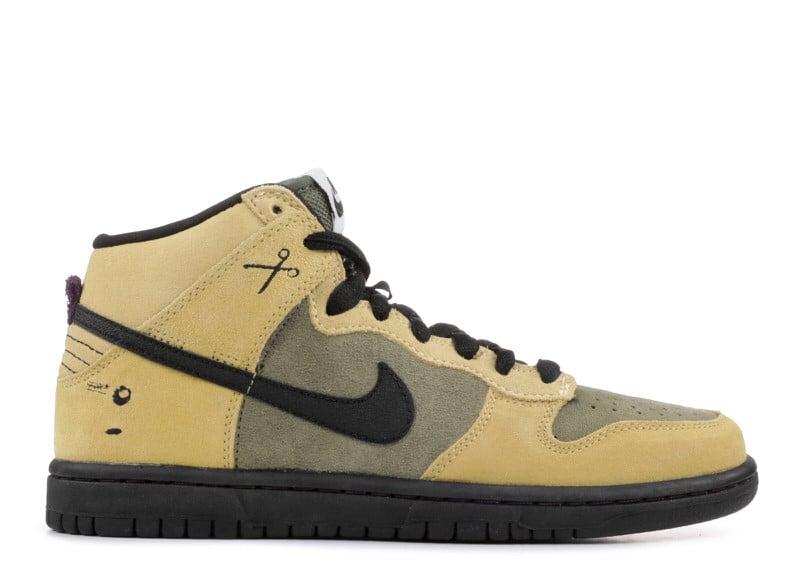 "Nike SB Dunk High ""Chrome Ball"""