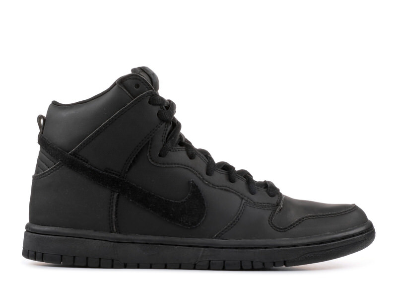 "Nike SB Dunk High ""Blackout"""