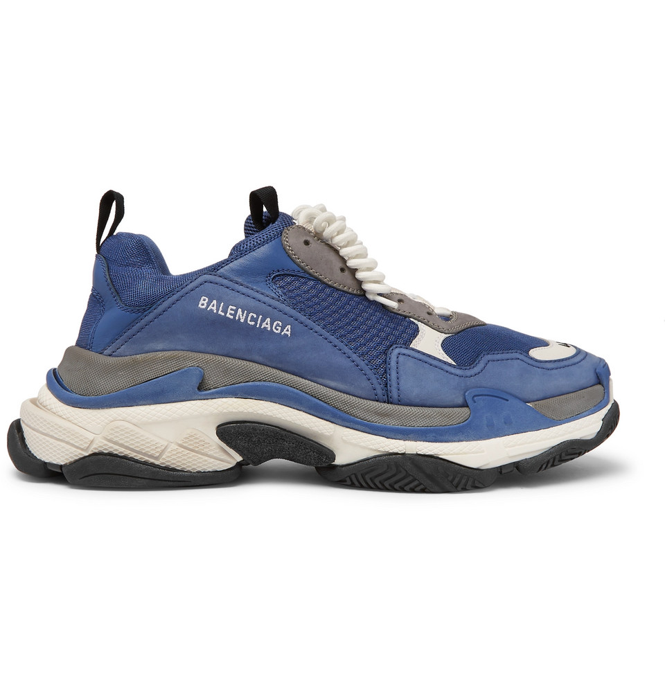 Balenciaga Triple S Sports Cool Blue