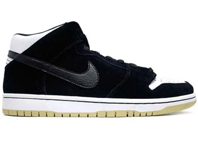 "Nike SB Dunk Mid ""Black/Gum"""